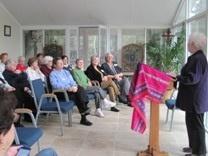 """Sr. Rochelle facilitated the retreat in Covington on """"Centering"""" Prayer."""
