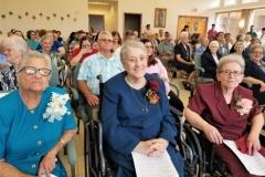 Sisters Magdalen, Audrey Ruth, Brenda at Opelousas 2019 Jubilee Liturgy.